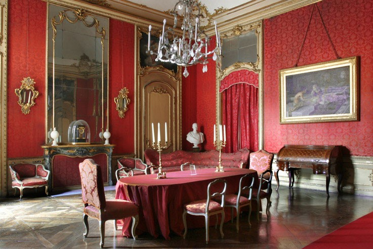 Dining room of Palazzo Chiablese. Photo from Compagnia di San Paolo