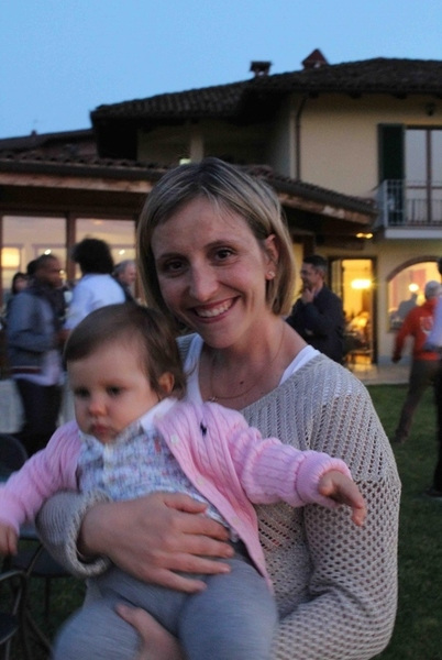 The future has never been brighter for women vintners in Piemonte, as Paola Grasso of Ca' del Baio, here with her youngest daughter, Anna Deltetto, can attest.
