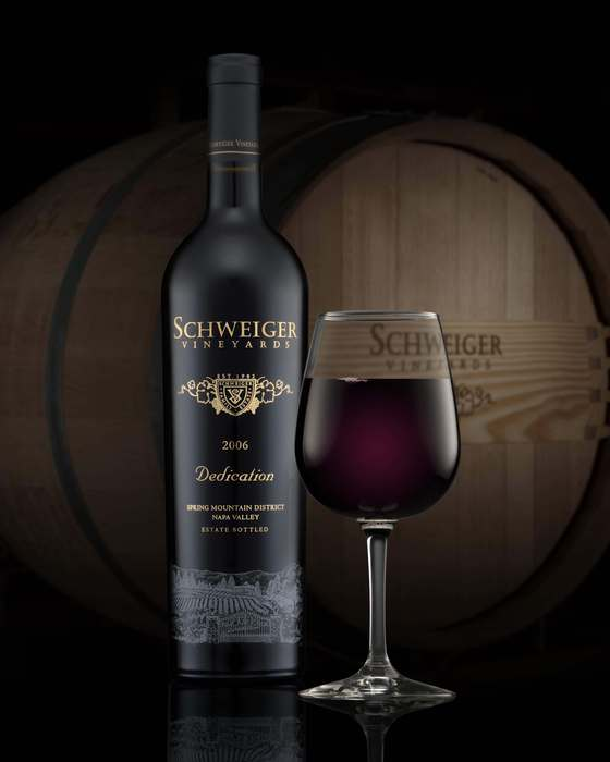 Schweiger Vineyards' Dedication, Napa Valley Cabernet blend