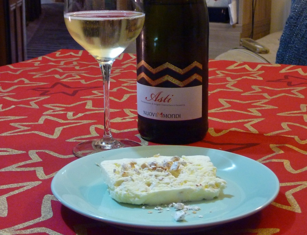 Semifreddo with Asti Spumante
