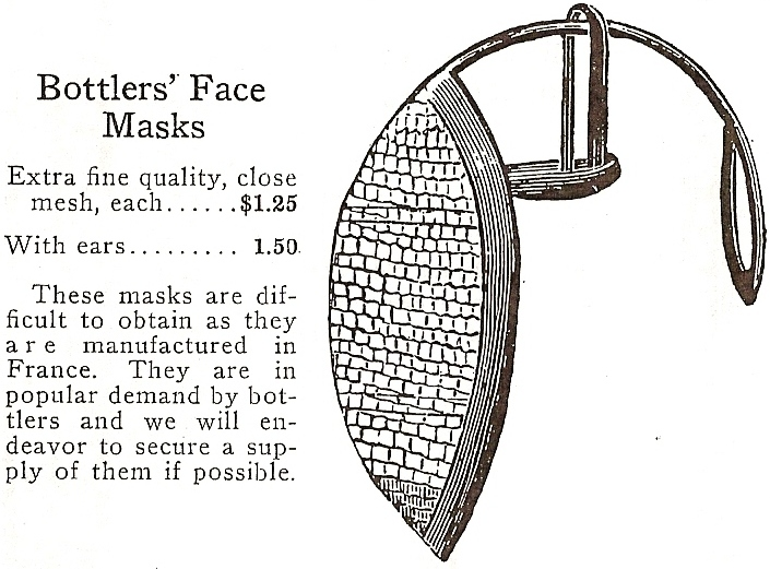 Bottler's Face Masks