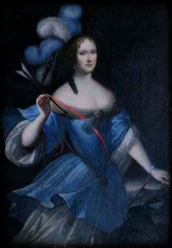 The Lady in Blue of the Castle of Carrù