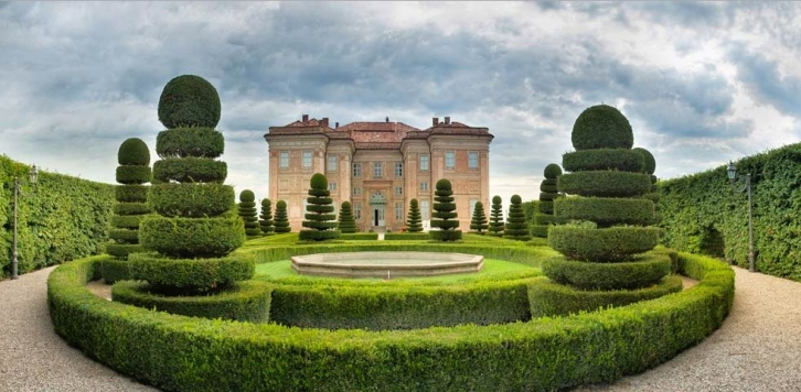 Castello di Guarene. Photo from www.castellodiguarene.com