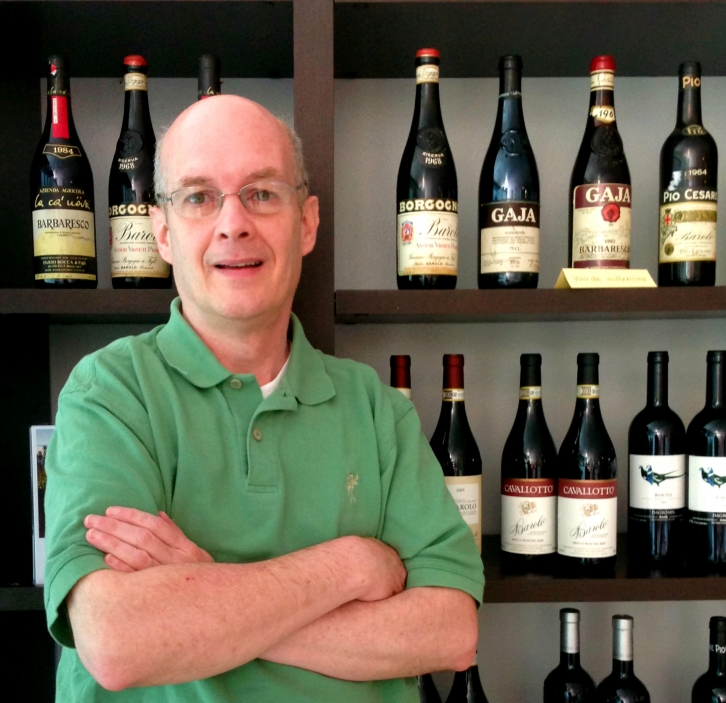 Tom Hyland, freelance wine writer and photographer specializing in Italian wines