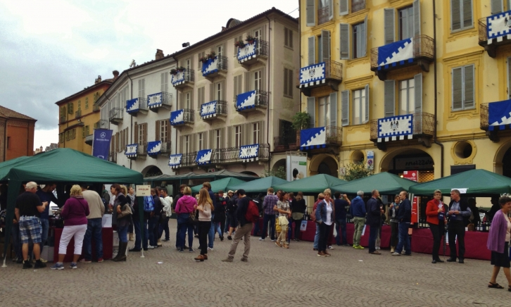 Festa del Vino in Alba. Photo by Valerie Quintanilla