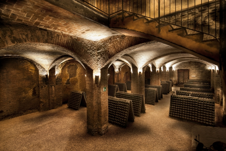 The oldest underground cellar of Contratto