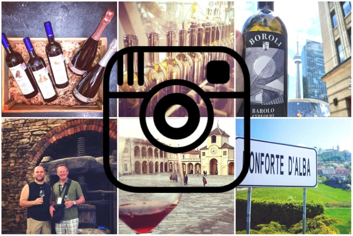 Piemonte wineries on Instagram