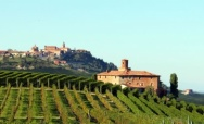 On the Terrace of the Langhe