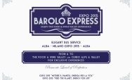 Barolo Express: An elegant ride to and from the Milan Expo 2015